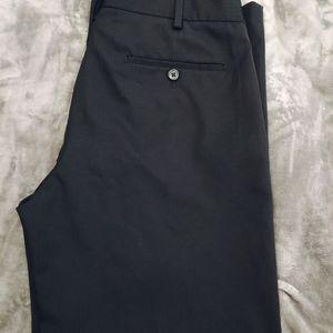Van Heusen men's black dress pants